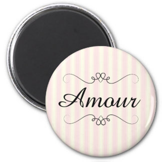 French Retro Amour Magnet