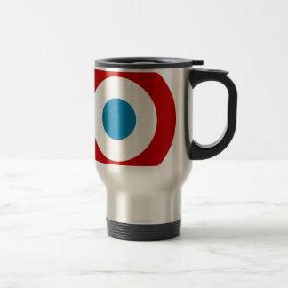 French Revolution Roundel France Cocarde Tricolore Travel Mug