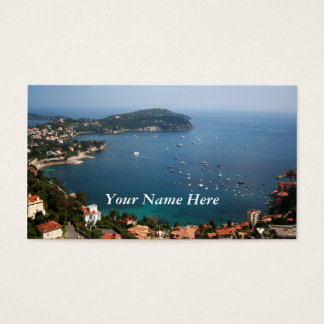 French Riviera Business Card