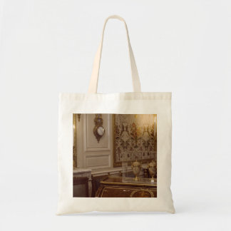 French Rococo Room In Paris Budget Tote Bag