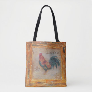 French rooster bag
