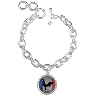 French rooster bracelet