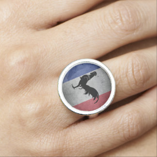 French rooster ring
