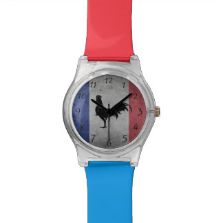 French rooster watch