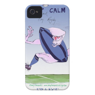 french rugby ball, tony fernandes Case-Mate iPhone 4 cases