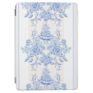French,shabby chic, vintage,pale blue,white,countr iPad air cover