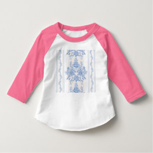 French,shabby chic, vintage,pale blue,white,countr T-Shirt