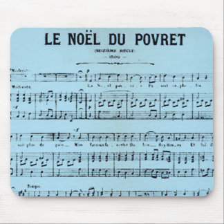 French Sheet Music Mousepad