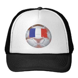 French Soccer Ball Trucker Hat