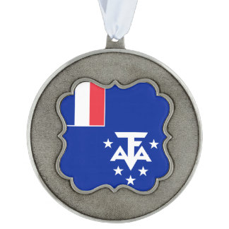 French Southern and Antarctic Lands Flag Ornament