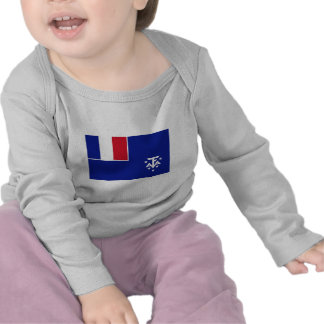 French Southern and Antarctic Lands Flag T Shirts