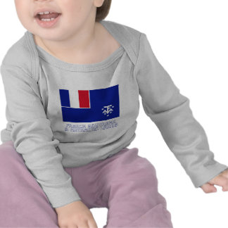 French Southern and Antarctic Lands Flag with Name Shirts