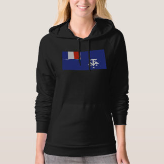 French Southern Antarctica Flag Hoodie
