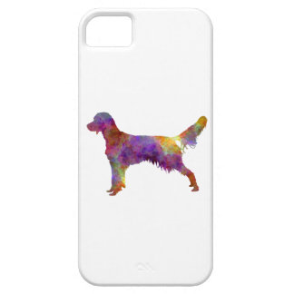 French Spaniel in watercolor iPhone 5 Covers