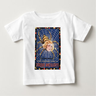 French Spider Girl Baby T-Shirt