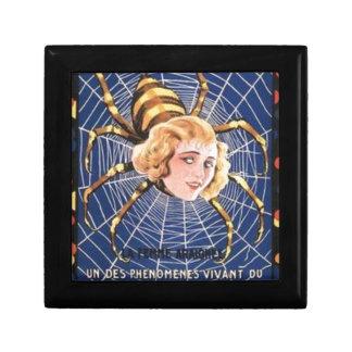 French Spider Girl Keepsake Boxes