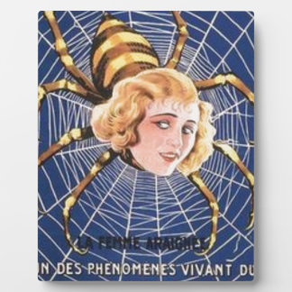 French Spider Girl Plaque