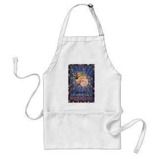 French Spider Girl Standard Apron