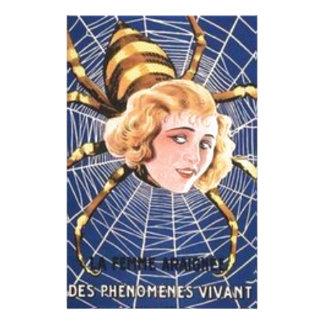 French Spider Girl Stationery