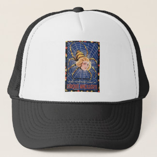French Spider Girl Trucker Hat