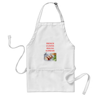 FRENCH STANDARD APRON