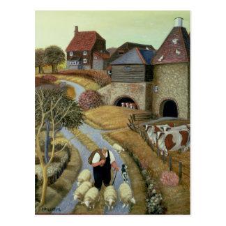 French Street Farm Postcard