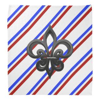 French stripes flag bandana
