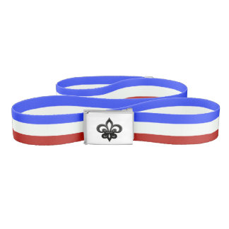 French stripes flag belt