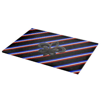 French stripes flag cutting board