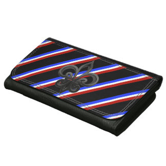 French stripes flag wallet