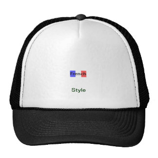 French Style Trucker Hat