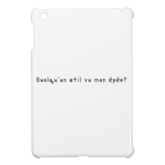 French-Sword iPad Mini Cases
