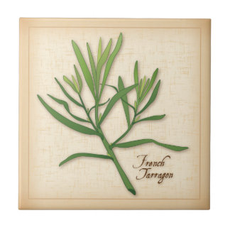 French Tarragon Herb Tile