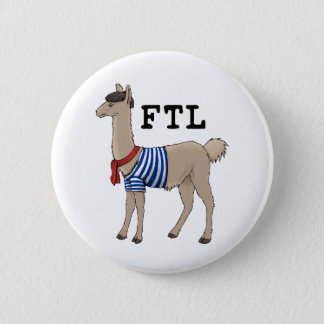 French the Llama Button