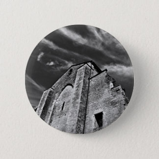 French the Middle Ages kisses the darkness skies 2 Inch Round Button
