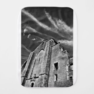 French the Middle Ages kisses the darkness skies Burp Cloth