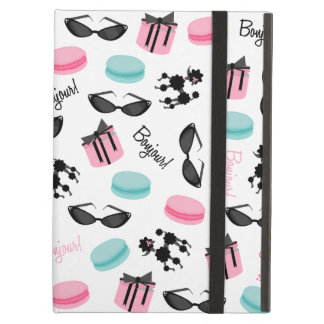 French Theme iPad Case With Kickstand