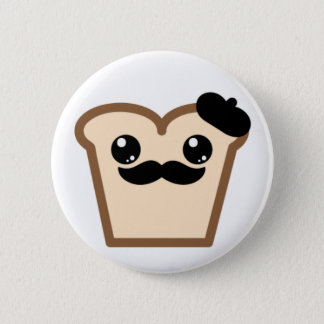 french toast 2 inch round button