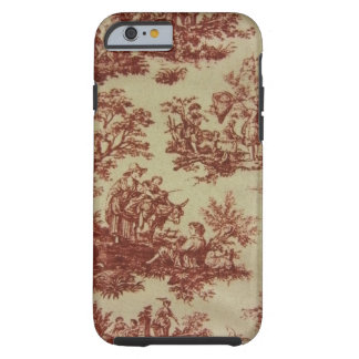 French Toile in Pink Tough iPhone 6 Case