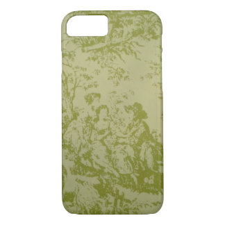 French Toile Print iPhone 7 Case