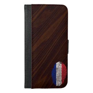 French touch fingerprint flag