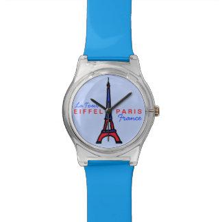 french tour eiffel paris wristwatch