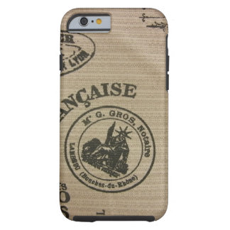 French Travel Stamps Tough iPhone 6 Case