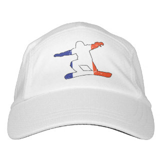 French Tricolor SNOWBOARDER (blk) Hat