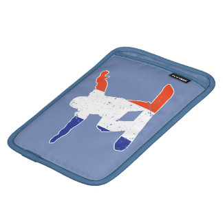 French Tricolor SNOWBOARDER (wht) iPad Mini Sleeve