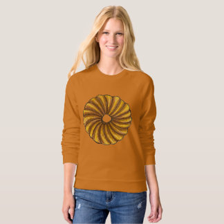 French Twist Pastry Food Donut Doughnut Sweatshirt