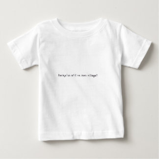 French-Village Baby T-Shirt
