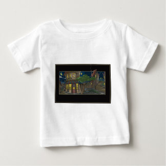 French village cafe shirt
