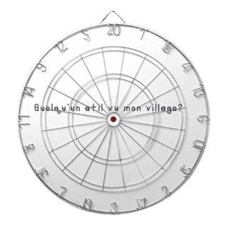 French-Village Dartboard
