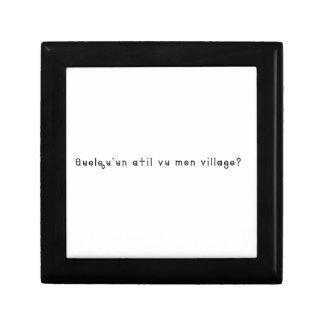 French-Village Gift Box